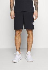 Nike Performance - SHORT CAMO - Korte sportsbukser - black - 0