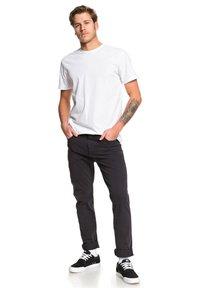 Quiksilver - KRANDY - Trousers - black - 1