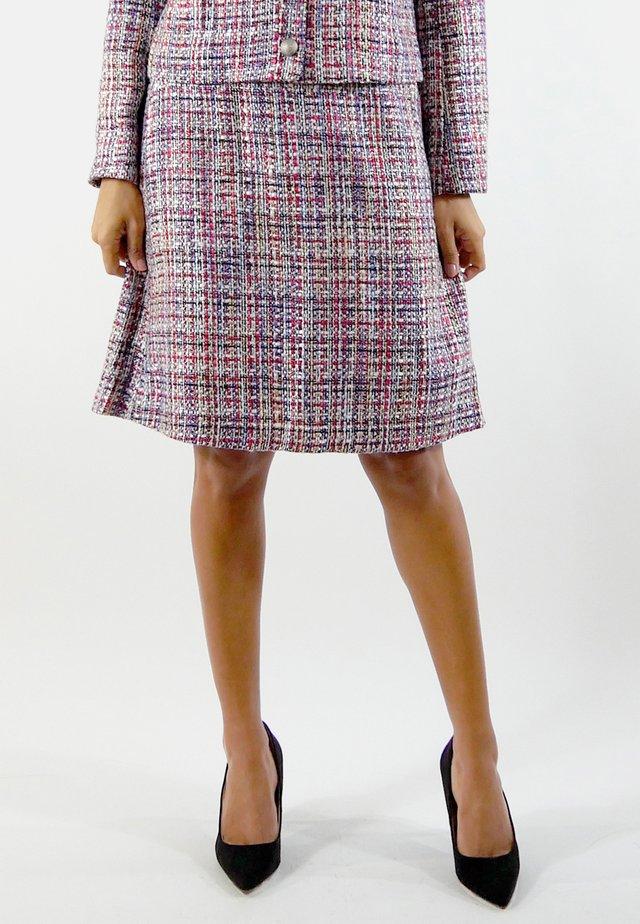 GABRIELLE - A-line skirt - red/blue/white