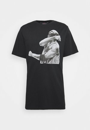 M J PHOTO  - Print T-shirt - black