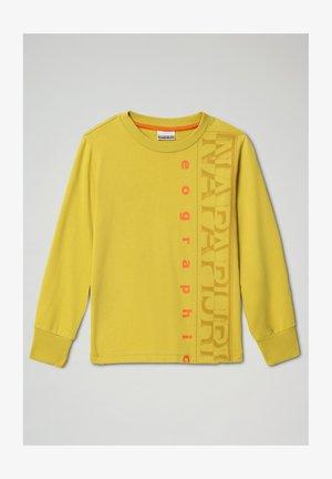 BADYR CREW - Sweatshirt - yellow moss