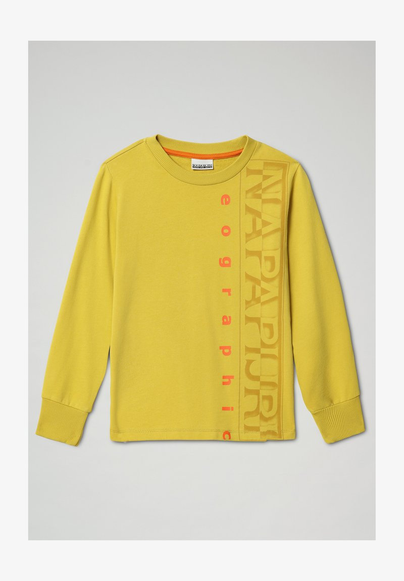 Napapijri - BADYR CREW - Sweatshirt - yellow moss