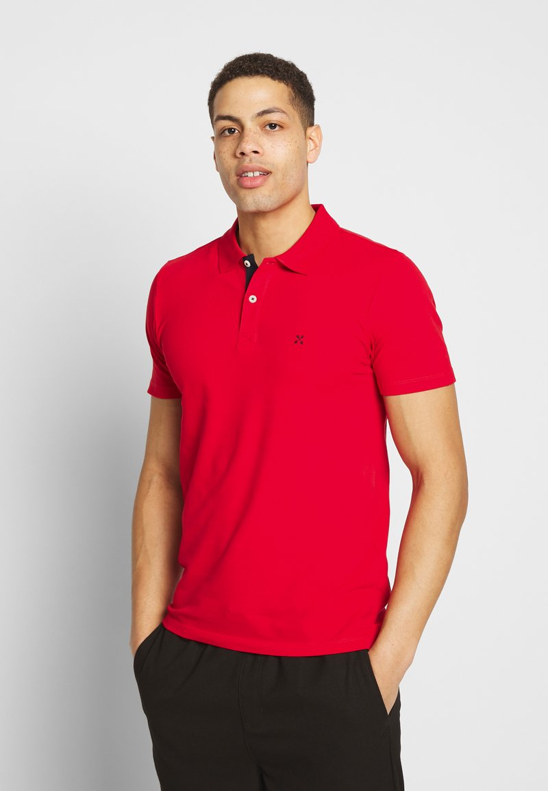 Selected Homme - SLHLUKE SLIM FIT - Polo shirt - true red