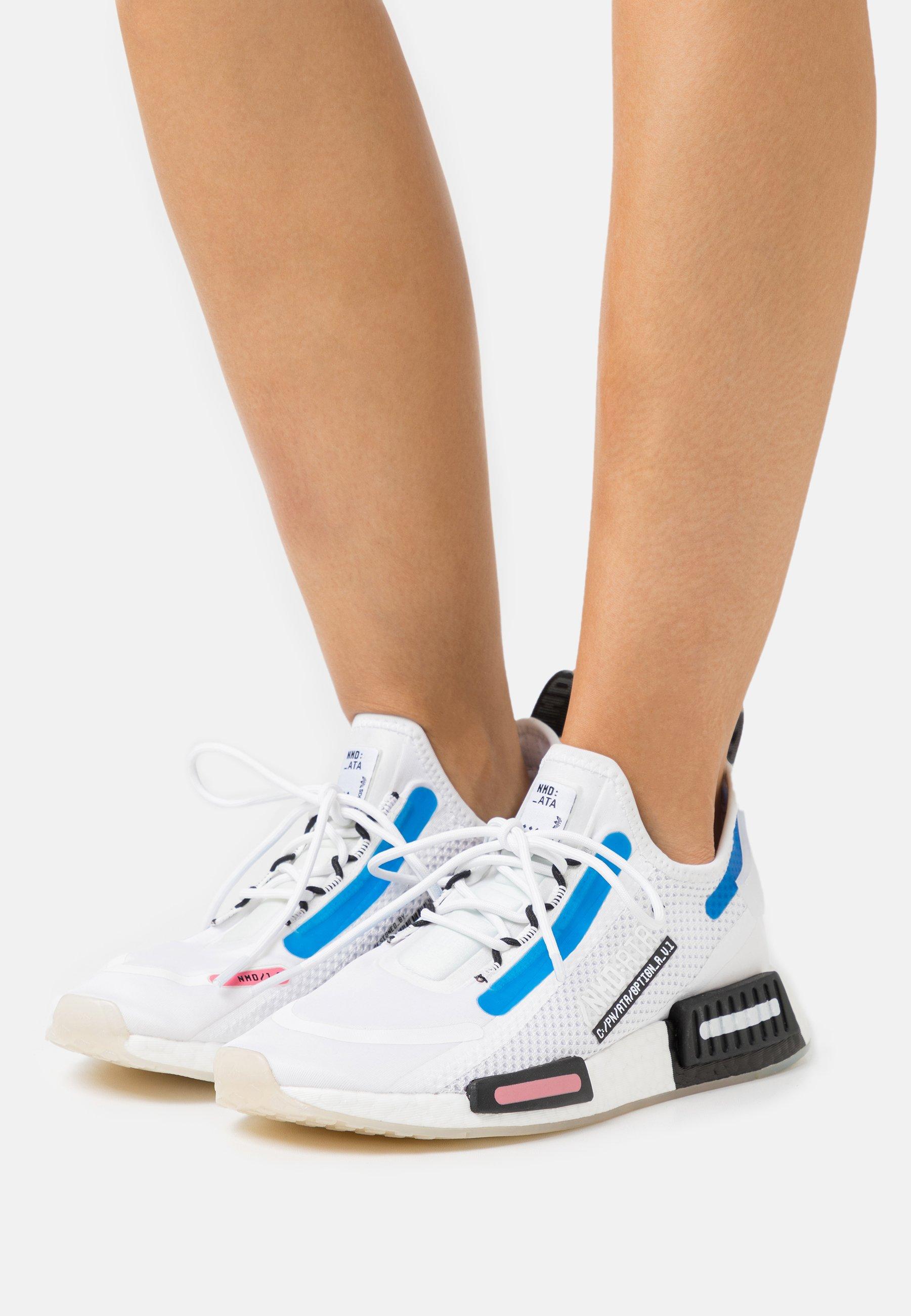 NMD_R1 SPEEDLINES BOOST SHOES - Baskets basses - footwear white/core black