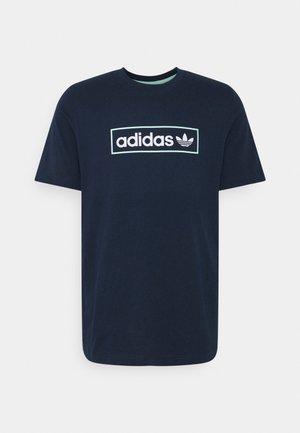 LINEAR LOGO TEE - T-shirt med print - collegiate navy