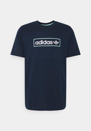 LINEAR LOGO TEE - T-shirts print - collegiate navy