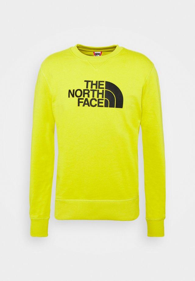 DREW PEAK CREW LIGHT - Sweatshirt - citronellegreen