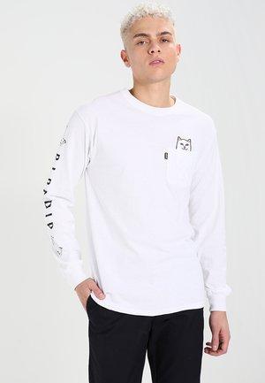 LORD NERMAL - Sweatshirt - white