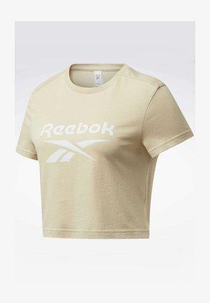 CLASSICS BIG LOGO T-SHIRT - Print T-shirt - beige
