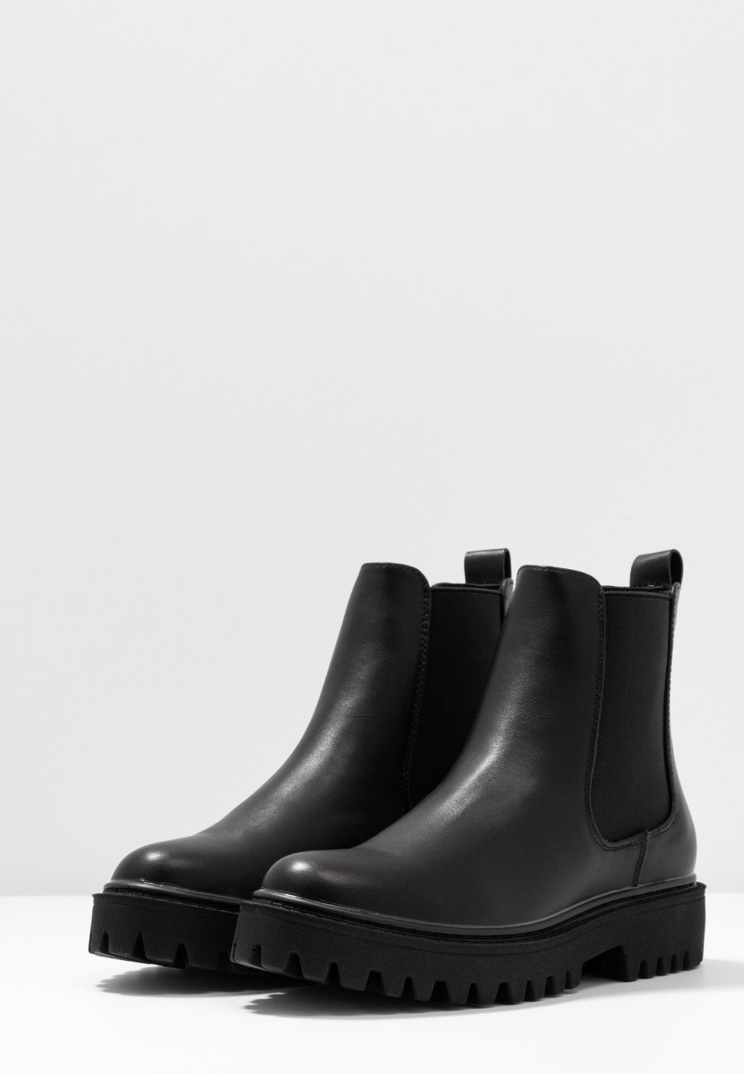 Even&Odd Platform-nilkkurit - black - Naisten kengät UTkFm
