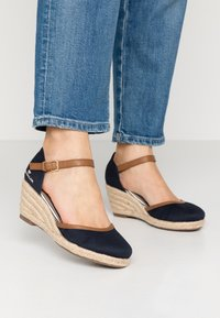 TOM TAILOR - Wedges - navy - 0