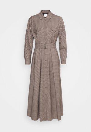 OTARIA - Shirt dress - dark brown