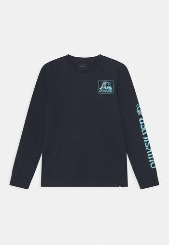SEAQUEST - Maglietta a manica lunga - navy blazer