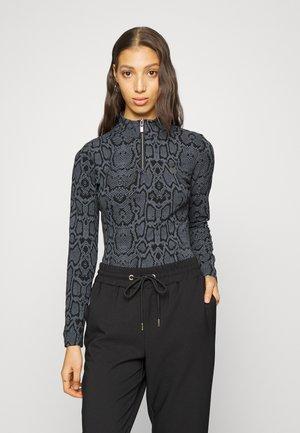 PHIALA - Bluzka z długim rękawem - black