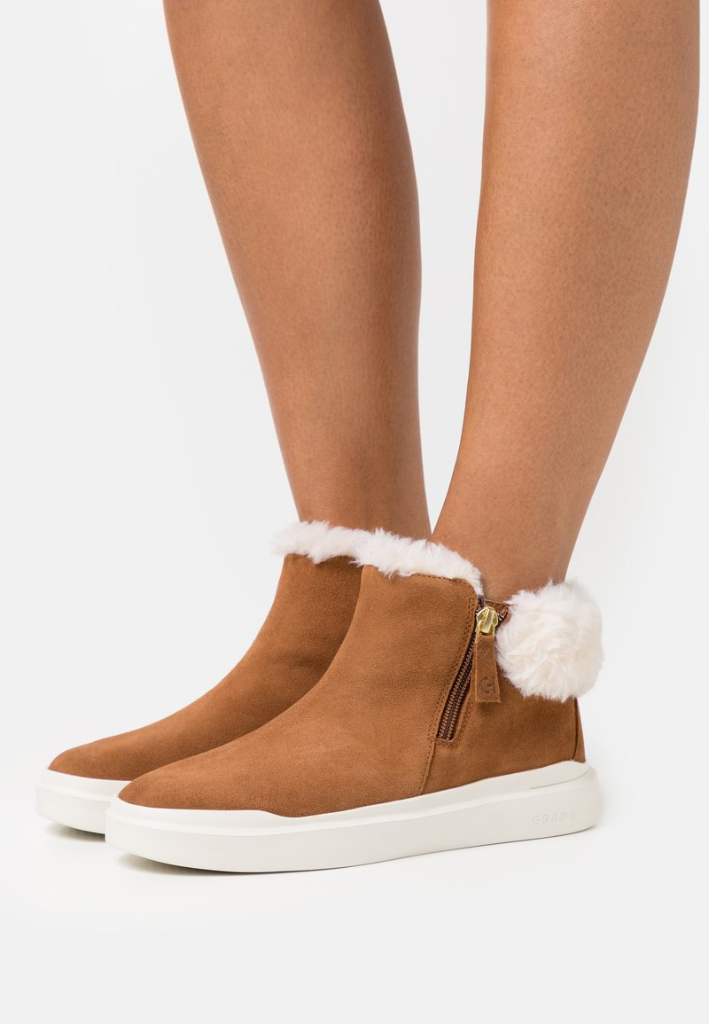 Cole Haan - GRANDPRO RALLY - Ankle boots - new caramel