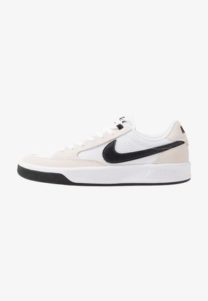 NIKE ADVERSARY - Skate shoes - white/black