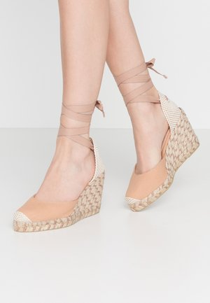 MARMALADE WIDE FIT - High heeled sandals - nude/rose gold