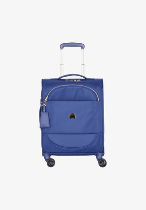 MONTROUGE 4-ROLLEN KABINENTROLLEY - Wheeled suitcase - blau