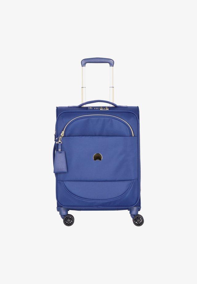 MONTROUGE 4-ROLLEN KABINENTROLLEY - Wheeled suitcase - blau