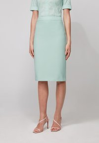 BOSS - VINOA - Pencil skirt - turquoise - 0