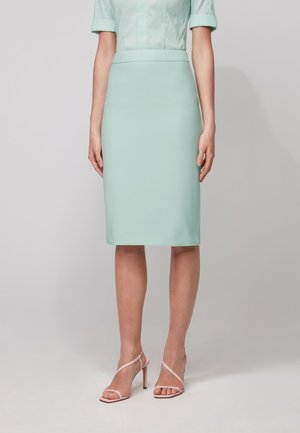 VINOA - Pencil skirt - turquoise