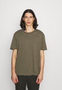 AllSaints - MUSICA CREW - Basic T-shirt - parlour green - 0