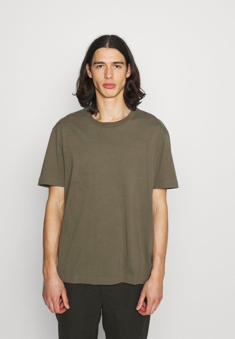 AllSaints - MUSICA CREW - Basic T-shirt - parlour green