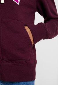 GAP - Zip-up hoodie - secret plum - 5