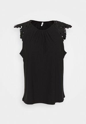 ONLSILJA LIFE - Camiseta básica - black