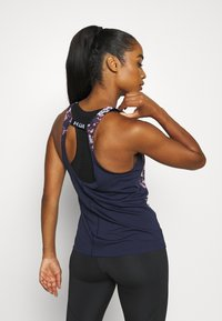 Under Armour - FLY BY PRINTED TANK - Sports shirt - purple - 2