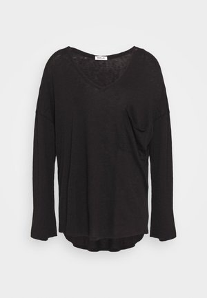 LONG SLEEVES - Long sleeved top - schwarz