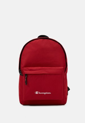 LEGACY BACKPACK - Ryggsäck - dark red/black