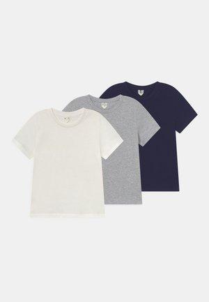 3 PACK UNISEX - T-shirt basic - white
