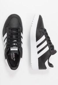 adidas Originals - TEAM COURT  - Trainers - core black/footwear white - 0