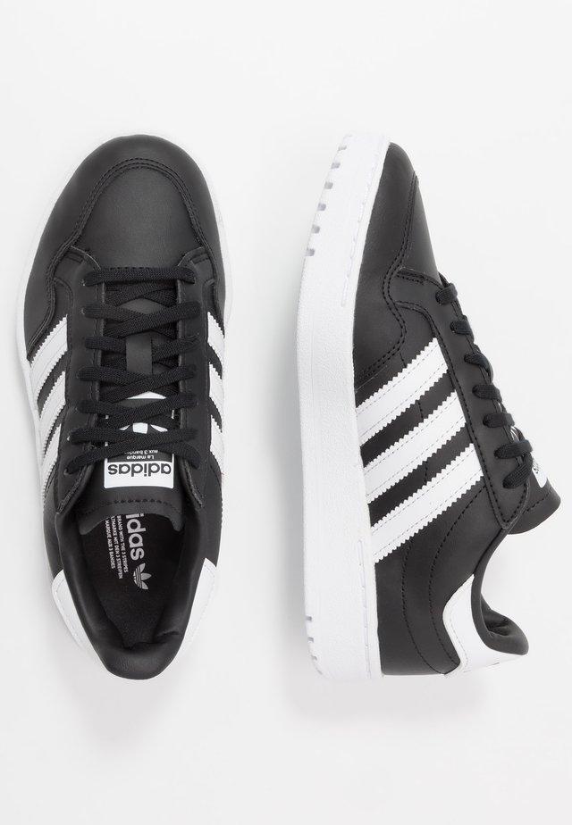 TEAM COURT  - Zapatillas - core black/footwear white
