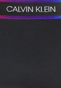 Calvin Klein Swimwear - PRIDE CHEEKY - Bikini bottoms - black - 5