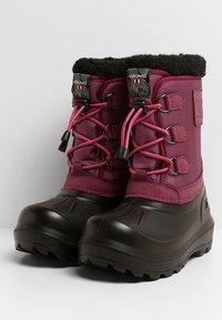 Viking - ISTIND - Zimní obuv - dark pink/black - 3