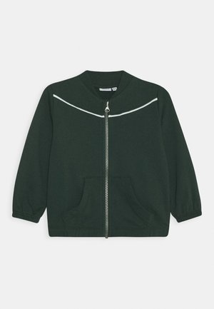 NMFLUKKA - veste en sweat zippée - darkest spruce