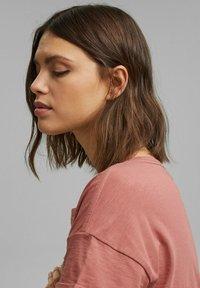 Esprit - Basic T-shirt - blush - 6