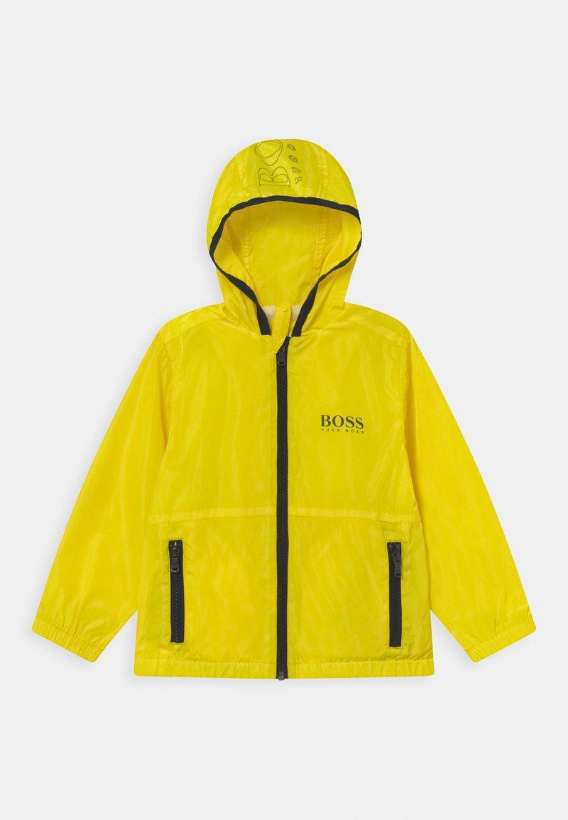 BOSS Kidswear - WINDBREAKER - Kurtka przejściowa - yellow