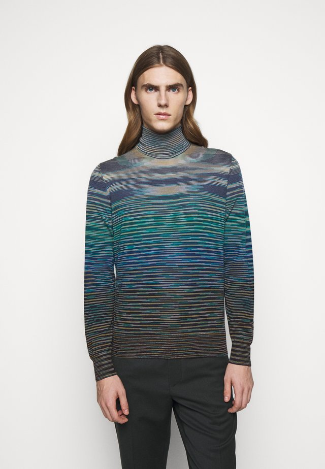LONG SLEEVE CREW NECK - Strickpullover - multicoloured
