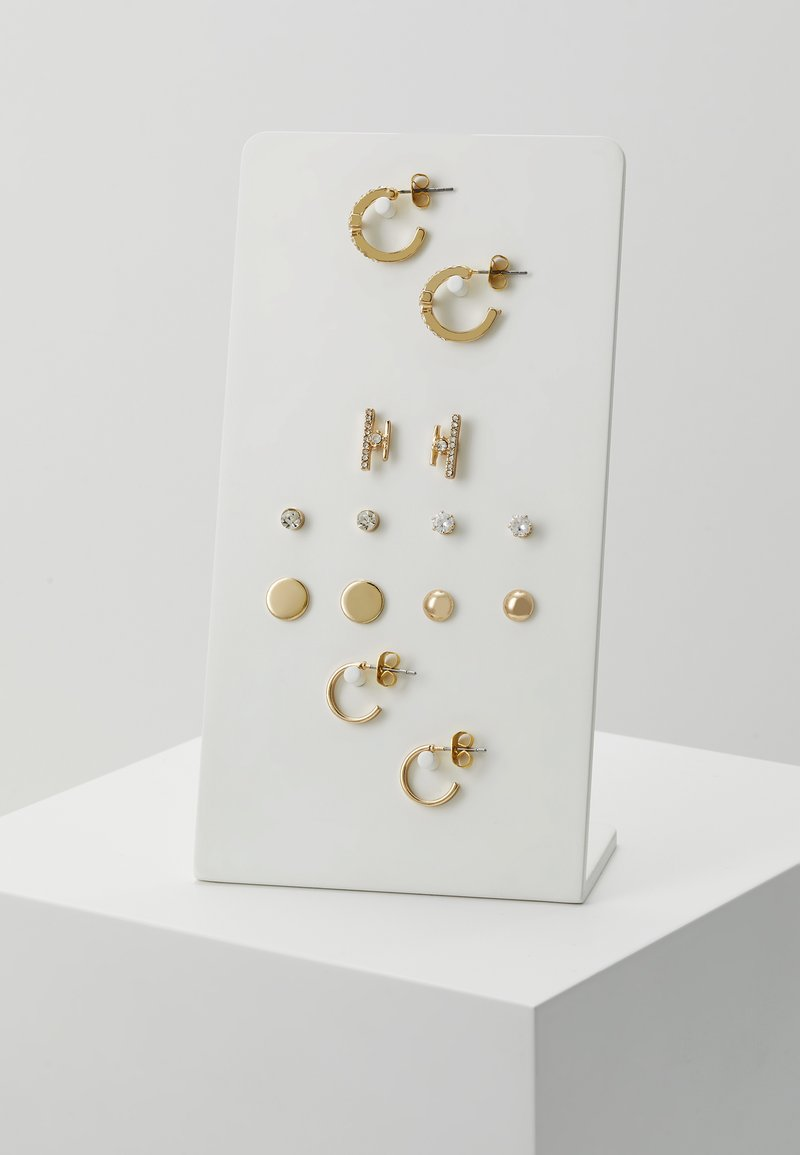 ONLY - ONLCAMI EARRINGS 7 PACK - Earrings - gold-coloured
