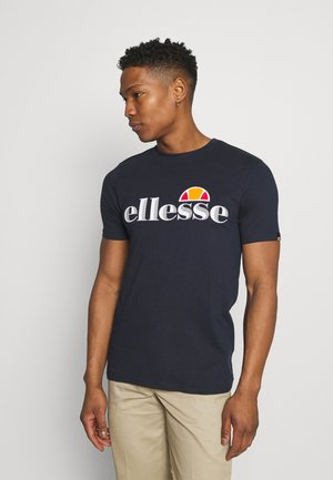 HAREBA - Print T-shirt - navy