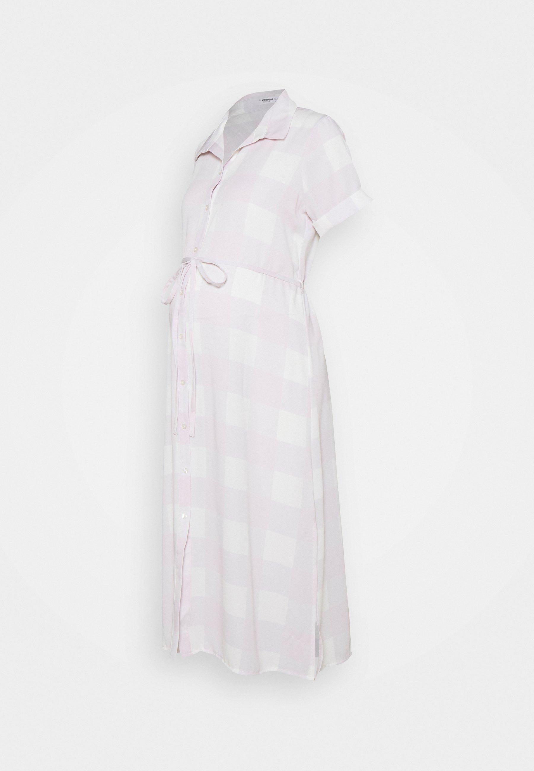 Women SHIRT DRESS WITH BELT - Shirt dress