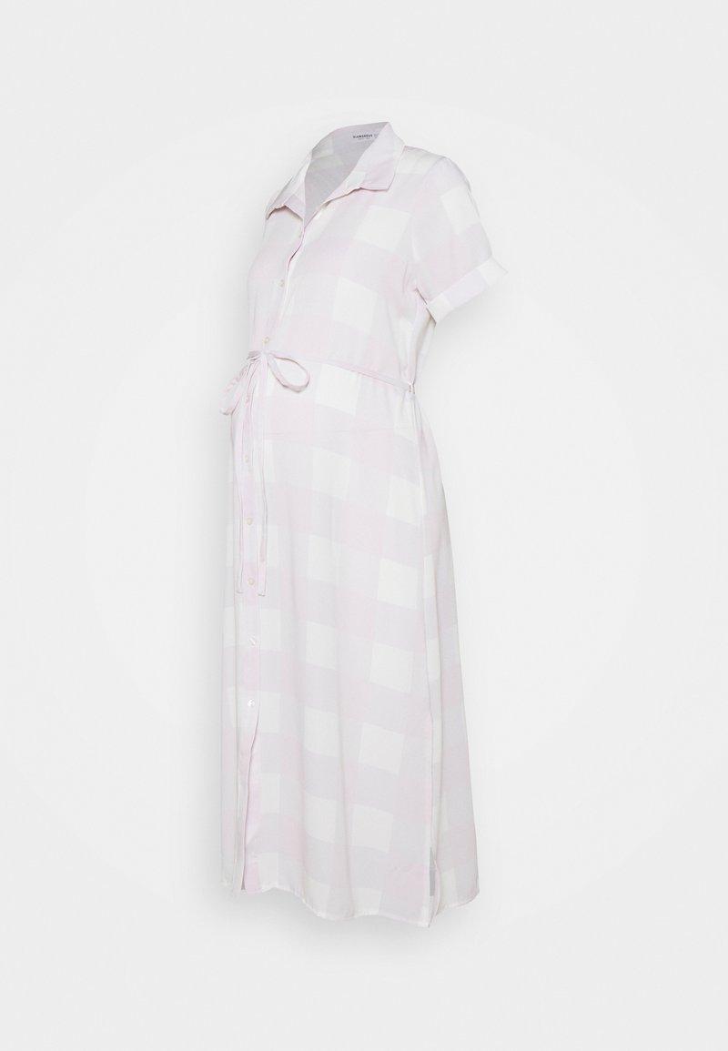 Glamorous Bloom - SHIRT DRESS WITH BELT - Košilové šaty - lilac