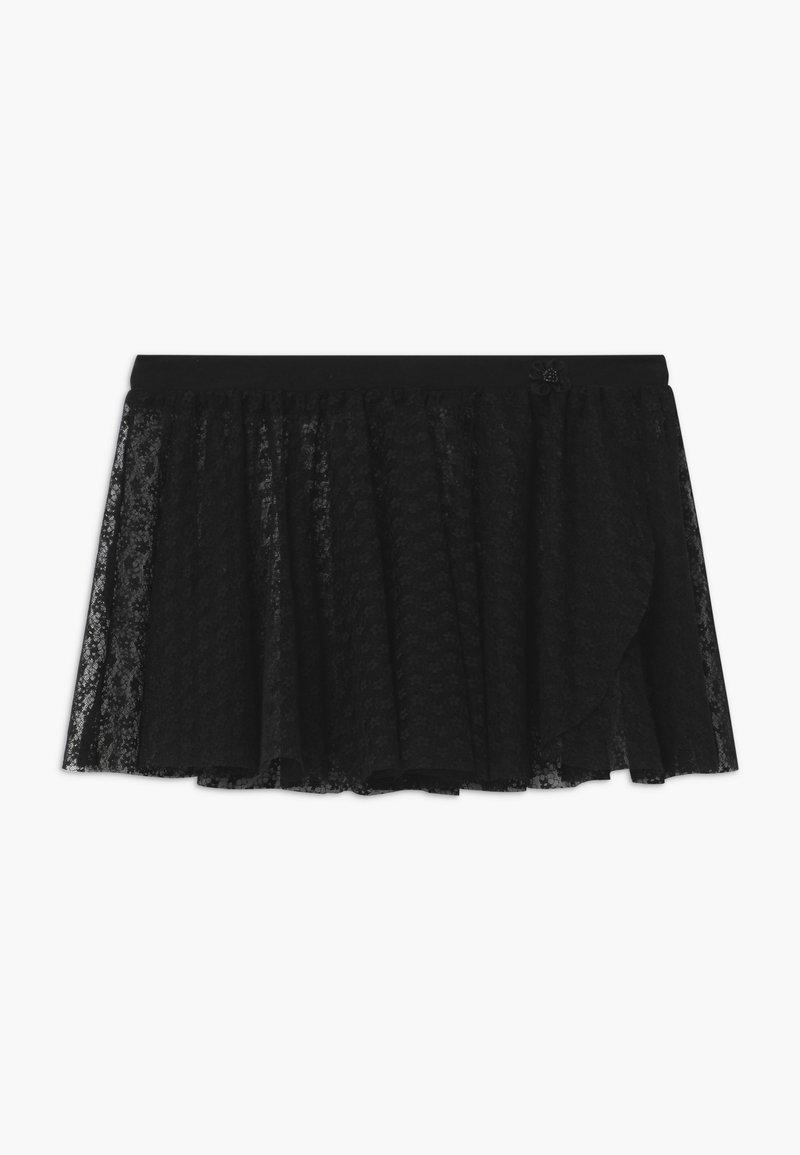Capezio - BALLET PULL ON  - Plisovaná sukně - black