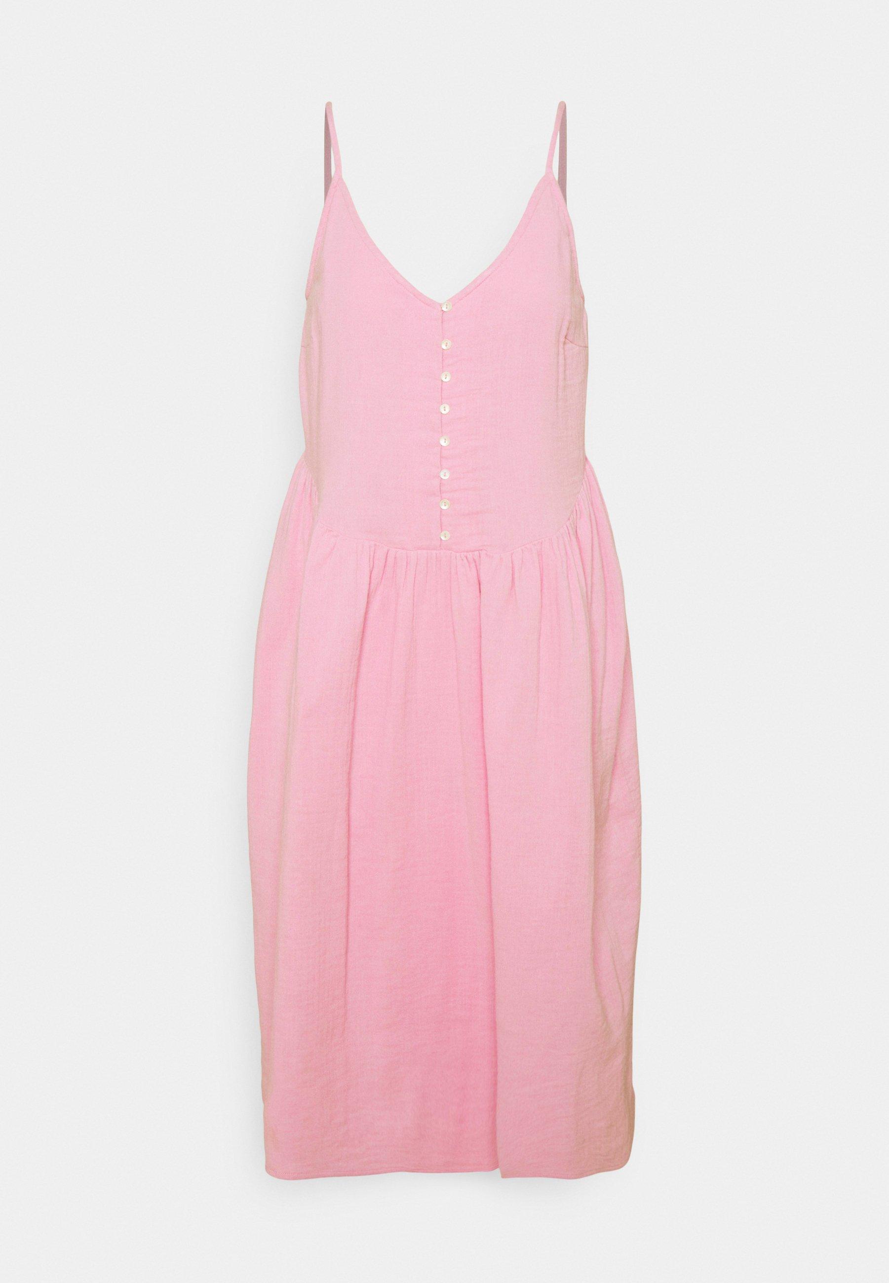 Women YASDINA STRAP MIDI DRESS - Day dress