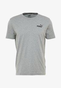 Puma - SMALL LOGO TEE - T-shirt - bas - medium grey heather - 3