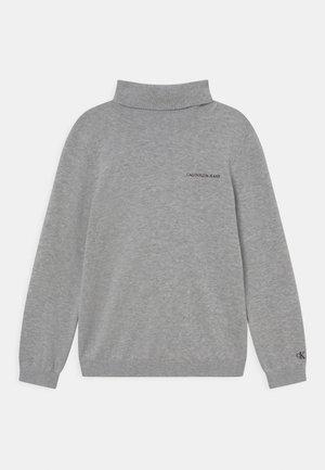 ROLL NECK - Jumper - light grey heather