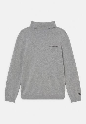 ROLL NECK - Maglione - light grey heather